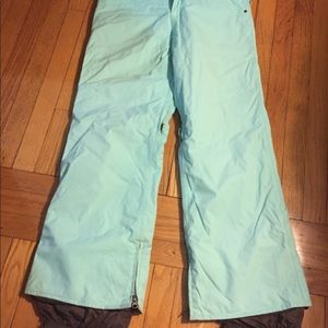 Snowboarding pants women's medium